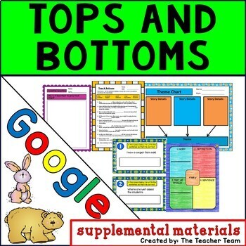 Tops and Bottoms | Journeys 3rd Grade Unit 3 Lesson 12 Google Activities