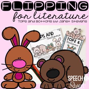Tops and Bottoms Literature Flip Book Freebie!