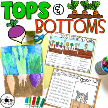 Tops and Bottoms Read-Aloud | Distance Learning | for Google Slides | Seesaw