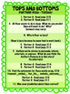 Tops and Bottoms Reading Street 3rd Grade Unit 2