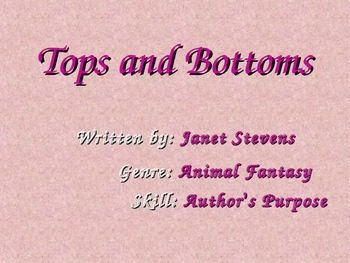 Tops and Bottoms (Reading Street)