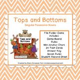 Tops and Bottoms:  Singular Possessive Nouns