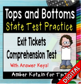 Tops and Bottoms State Test Prep - 3rd Grade Journeys