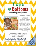 Tops and Bottoms Mini Pack Activities 3rd Grade Journeys Unit 3, Lesson 12