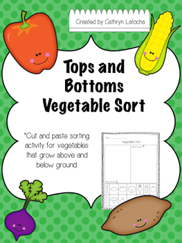Tops and Bottoms Vegetable Sort