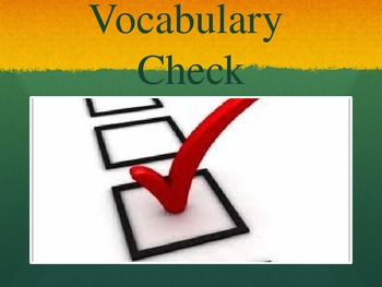 Tops and Bottoms Vocabulary Powerpoint
