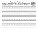 Tops and Bottoms Write to Retell
