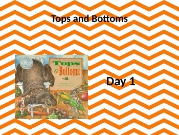 Tops and Bottoms powerpoint and interactive notebook