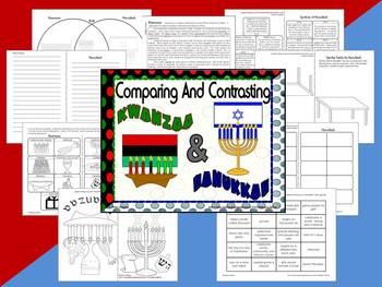 Winter Traditions - Compare and Contrast Mini Units