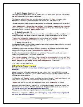 Torah Portion - Exodus - Bo - Third of Eleven