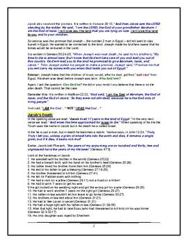 Torah Portion - Genesis - Vayechi - Twelfth of Twelve