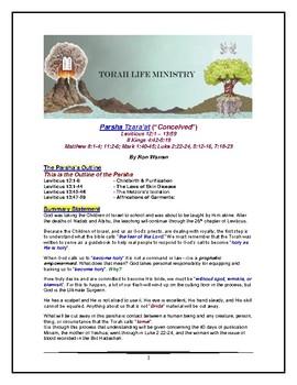 Torah Portion - Leviticus - Tazria - Fourth of Ten