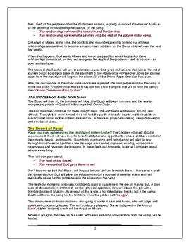 Torah Portion - Numbers - Behaaloscha - Third of Ten