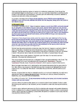 Torah Portion - Numbers - Mattot - Ninth of Ten