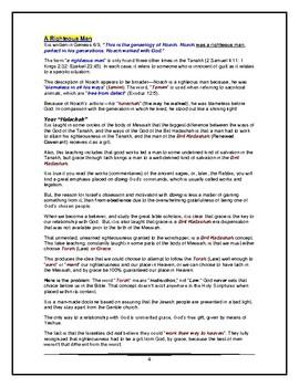 Torah Portion - Genesis - Noach - Second of Twelve