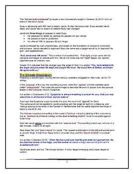 Torahlife Portion - Genesis - Vayishlach - Eighth of Twelve