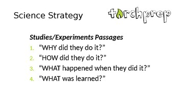 TorchPrep - ACT Science Activity Based Curriculum - Slides