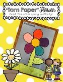 Torn Paper Flower Craftivity