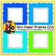 Torn Paper Frames {CU}