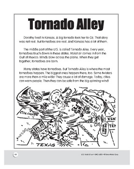Tornado Alley: Historical Reading and Activities for Grades 1–3