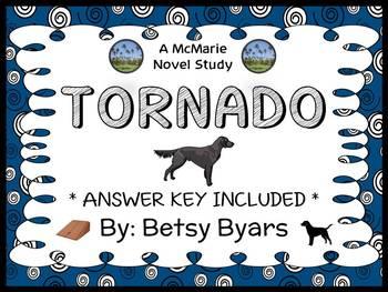 Tornado (Betsy Byars) Novel Study / Reading Comprehension  (20 pages)