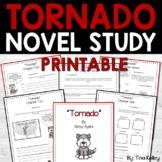 Tornado Novel Study and STEM Activities | Distance Learnin