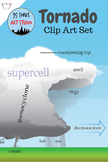 Tornado Clip Art Set - Earth Science