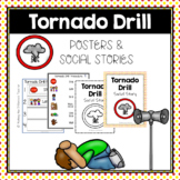 Tornado Drill Routine & Procedures- Visuals, Posters, & Social Stories