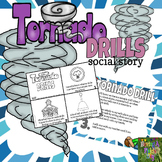 Tornado Drill Social Story Mini Book Set