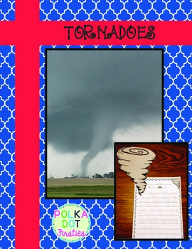 Tornado Informational Writing & Craft {FREE}