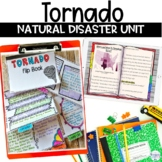 Tornado Natural Disasters Unit includes Nonfiction Text Flipbook and Project