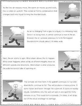 Tornado Nonfiction Article and Activity