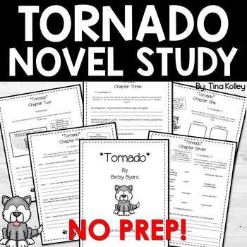 Tornado Novel Study-Critical Thinking