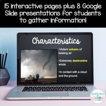 Tornado Research Digital Unit for Google Classrooms