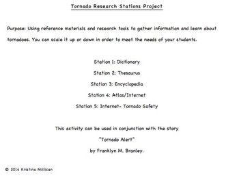 Tornado Research Project