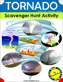Tornado Scavenger Hunt Activity