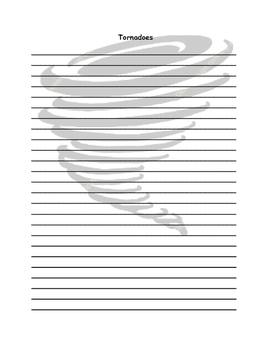 Tornado Writing Paper