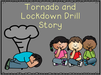 Tornado, Lockdown, and Fire Drill Social Stories