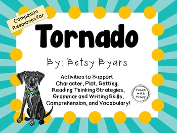 Tornado by Betsy Byars: A Complete Literature Study!