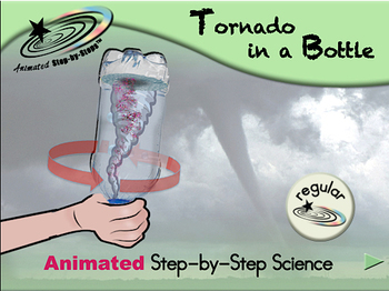 Tornado in a Bottle - Animated Step-by-Step Science Project - Reg