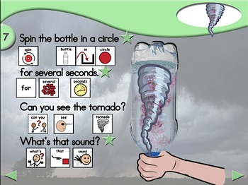 Tornado in a Bottle - Animated Step-by-Step Science Project - SymbolStix