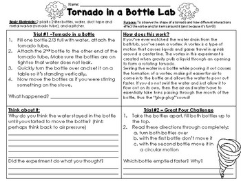 Tornado in a Bottle as well How To Make Tornado In A Bottle Glitter Tornado In A Jar Cool as well Tornado Report   Tornado in a bottle by Blooming with Mrs Flores in addition  also Tornado in a Bottle Lab by From Chopsticks to Mason Jars   TpT likewise Vortex  Fluids   Mechanics Science Activity   Exploratorium Teacher also Science Projects  Tornado in a bottle besides Tornado Projects For Kids Tornado Crafts For Preers Twisting moreover Tornado Fill In the Blank   Worksheet   Education besides  further Bottled Tornado An Easy Tornado Toy Vitamin Bottle Any Bottle Water besides Ideas Collection Grade 1 Science First Project  tornado In A Bottle also Science Fair Planning Guide besides science worksheet experiment3750 Tornado In A Bottle Activity Sheet moreover Homemade Tornado   Activity   Education moreover Tornado in a Bottle   Science Experiments   Steve Spangler Science. on tornado in a bottle worksheet