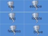 Tornado synonym cards