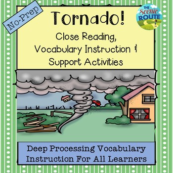 Tornadoes: Close Reading & Vocabulary