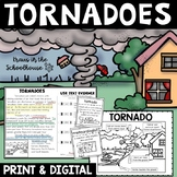 Tornadoes: Research, Graphic Organizers, Text Evidence, and Safety Tips