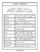 Tornadoes Terminology & Print Copywork