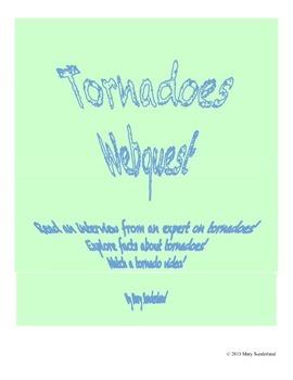 Tornadoes Webquest