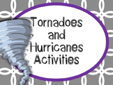 Tornadoes and Hurricanes Station Investigations {Mini Hand