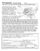Tornadoes and Tornado Alley - Reading and Activity Questions -