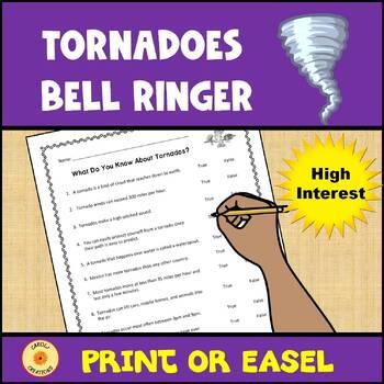 Tornados Anticipation Activity